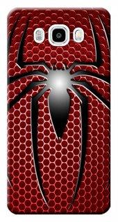 Samsung Galaxy J5 2016 Kılıf Sm J510 Silikon Baskılı Örümcek Stk