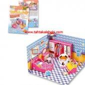 Folia 3d Maket Puzzle Eğitici Yatak Odası 63 Parça