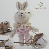 Organik Oyuncak Çıngırak Organic Bonny Baby Tavşan