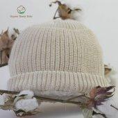 Organik Bebek Şapkası Organic Bonny Baby Şapka Bere