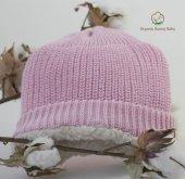 Organik Bebek Şapkası Organic Bonny Baby Bebek Şapkası Bere