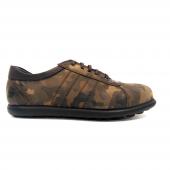 Kampanya Yepa Askeri Kamuflaj Desenli Casual Erkek Ayakkabı