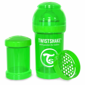 Twistshake Twistshake Anti Colic 180ml Biberon Yesıl Ye180b