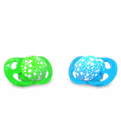 Twistshake Twistshake 0 6 Ay İkili Ortodontik Silikon Yalancı Emzik Mavi Yeşil Maye0