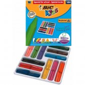 Bic Kids Plastidecor Triangle Elleri Kirletmeyen Üçgen Mum Pastel