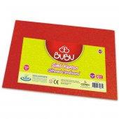 Bubu Simli Karton 10 Adet 50x70 Cm. Kırmızı