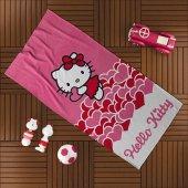 Taç Hello Kitty Plaj Havlusu