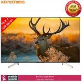 Sony Kd75xf8596 189 Ekran 4k Ultra Hd Android Smart Led Tv