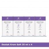 Deotak Krem Deodorant Soft X 4