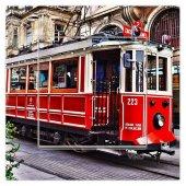 Dekoratif Baskılı Elektrik Düğmesi Priz Kapı Zili Tramvay