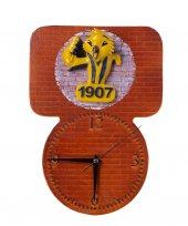 Kabartma Kanarya Figürlü Dekoratif El Yapımı Duvar Saati