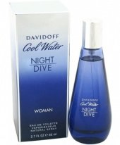 Davidoff Cool Water Night Dive Edt 80 Ml Bayan Parfüm