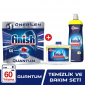 Finish Quantum 60 Tablet Bulaşık Makinesi Deterjanı + Parlatıcı 8