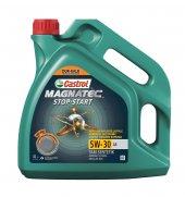 Castrol Magnatec Stop Start 5w 30 A5 4 Litre Motor Yağı