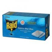 Raıd Elektromat Max Sınek Savar Tablet 20 Adet 8 Saat Etkılı Kok