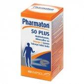 Pharmaton 50 Plus 60 Kapsul Multivitamin Mineraller Ve Ginseng 1