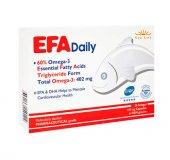 New Lıfe Efa Daily Günlük Omega 3 670mg 30 Kapsül Takviye Edic