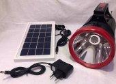 Km 2890 Solar Panelli El Feneri Işıldak Radyo Usb Sd