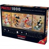 Anatolian 1000 Parca Geyşa Üçlemesi Puzzle