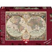 Art Dünya Haritası 1500 Parca Puzzle
