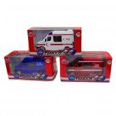 Sesli Metal Ambulans İtfaiye Jandarma