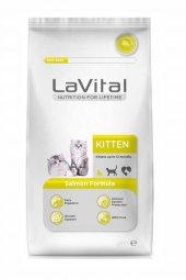Lavital Kitten Somonlu Yavru Kedi Maması 12 Kg