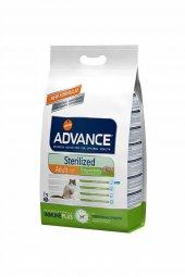 Advance Sterilized Hindili Kısırlaştırılmış Kedi Maması 1,5 Kg