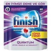 Finish Bulaşık Makinesi Deterjanı Quantum Tablet 60lı