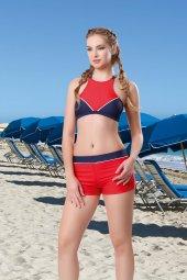Ruko Maio 631827 1 Sporcu Şortlu Mayo Bikini
