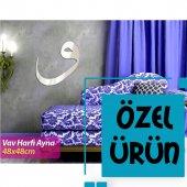 Islami Dekor Ayna Vav Harfi