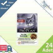 Pro Plan Adult Kuzu Etli Yetişkin Kediler İçin Yaş Mama 85 Gr 2