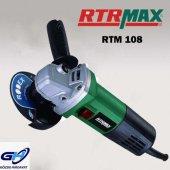 Rtrmax Rtm108 Avuç Taşlama Makinesi 115 Mm 750w