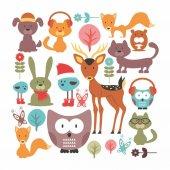 Dekorloft Orman Hayvanları Çocuk Odası Sticker Cs 263