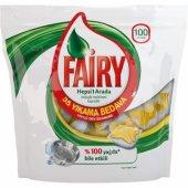 Fairy Hepsi Bir Arada Bulaşık Makinesi Kapsülü Limon 100 Adet