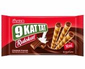 ülker 9 Kat Tat Rulokat Çikolatalı Kremalı Gofret 48 Gr