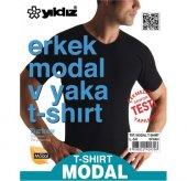 Yıldız 151 Erkek Modal V Yaka T Shirt