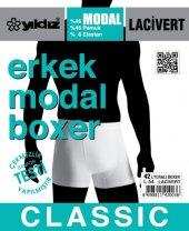 Yıldız 42 Likralı Modal Erkek Boxer