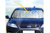 Araba Ön Cam Güneşliği 130*60 Cm Parlak