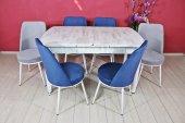 Stoker Premıum Yemek Masa Takımı 6 Sandalyeli Kombinasyon Stk159