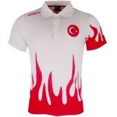 Uhlsport Polo T Shirt White Milli Takım