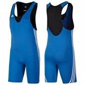 Adidas Base Wrestler Men New Güreş Mayosu Blue V13838