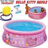 Intex 28104 Hello Kitty Desenli Şişme Havuz 183x51cm