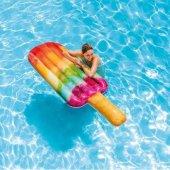 Intex 58766 Renkli Buz Dondurma Şişme Deniz Havuz Yatağı