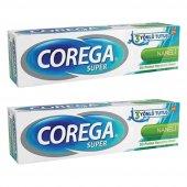 Corega Naneli Diş Protezi Yapıştırıcı Krem 40 Gr 2li
