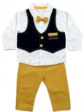 Pearly Baby Papyonlu Pantolonlu Takım 3 6 9 12 Ay