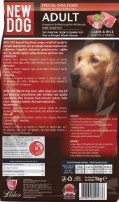 Newdog, Köpek Maması, 5 Adet X1 Kg Açık Taze Ucuz Lezzetli, Kuzu Etli Ve Pirinçli Mama, Pet