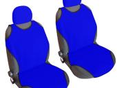 Kolay Takılabilen Oto Atlet Koltuk Kılıfı 2 Li Set (Mavi)