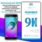 Bestsuit Samsung A5 2016 Nano Kırılmaz Cam Ekran Koruyucu Kılıf