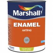 Marshall Enamel Parlak Antipas Gri 0,75 Lt