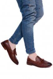 Detector Kahve Hakiki Deri Corcik Erkek Casual Ayakkabı